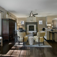 Traditional Living Room by Lowery Design Group