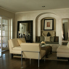Traditional Living Room by MOTIF Design Solutions, LLC