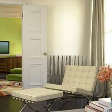Modern Living Room by Amy Noel Design