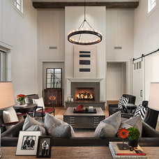 Traditional Living Room by Calvis Wyant Luxury Homes