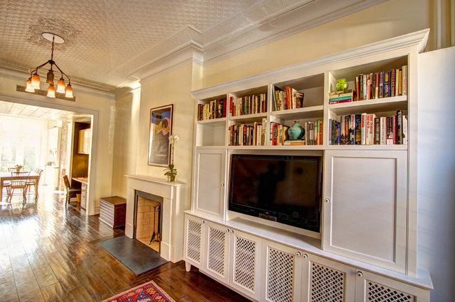 Traditional Living Room by Ben Herzog