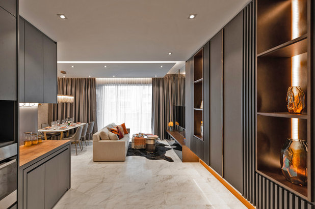 Contemporary Living Room by Mr Shopper Studio