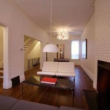 Modern Living Room by Barber Design Shop LTD