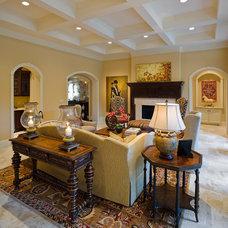 Living Room by Frankel Building Group