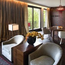 Contemporary Living Room by EXIT Interior Design Studio
