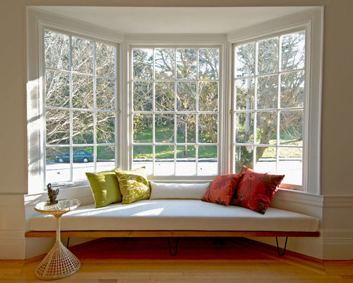 bay window living room design ideas remodels photos houzz - Bay Window Living Room