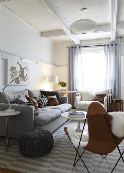 Scandinave Salon by Jenn Hannotte / Hannotte Interiors