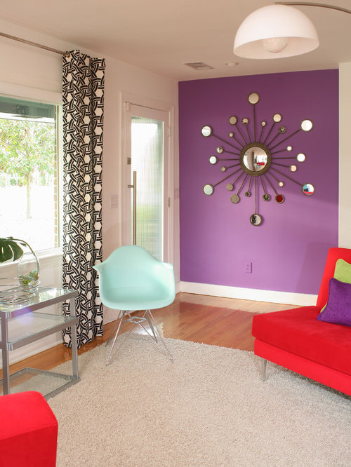 Purple Walls Houzz