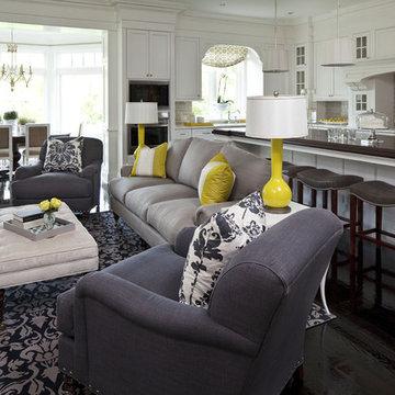 Parkwood Road Residence Living Room 2