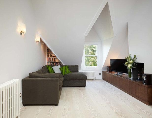 Scandinavian Living Room by Residence Interior Design Ltd