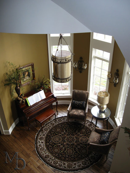 Traditional Living Room by Meyer Design
