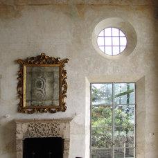 Mediterranean Living Room by iLA designs - The Fine Art of Classic Fresco