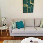 Mid century modern family home situated one metre from workaMy Houzz: Connecting - Midcentury ...