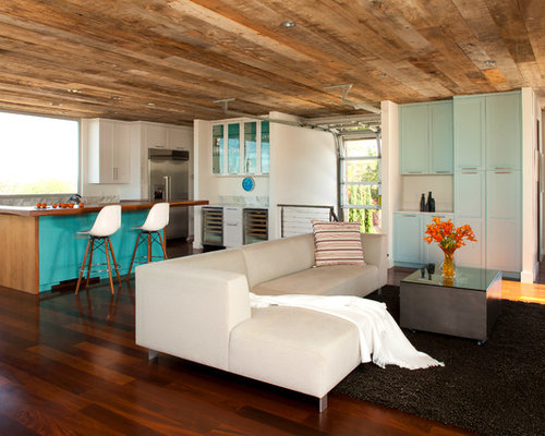 SaveEmail - Reclaimed Wood Ceiling Houzz