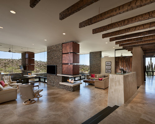 Top 20 Southwestern Living Room Ideas & Decoration Pictures | Houzz