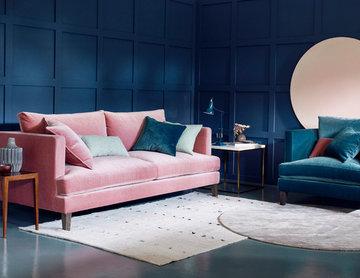Pastel Living Room Inspiration