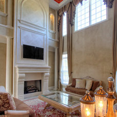 Mediterranean Living Room by Reminiscent Homes, LLC.
