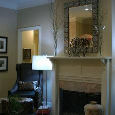 Modern Living Room by Valerie Davis