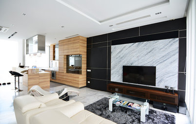 Houzz Tour: This Spacious Bachelor's Pad Pulls a Double Act
