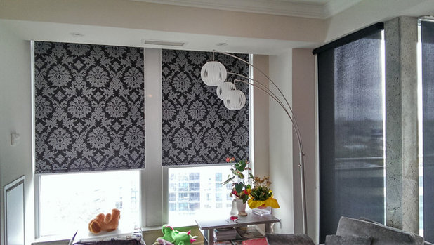 Roller Shades Raise The Curtain On Style