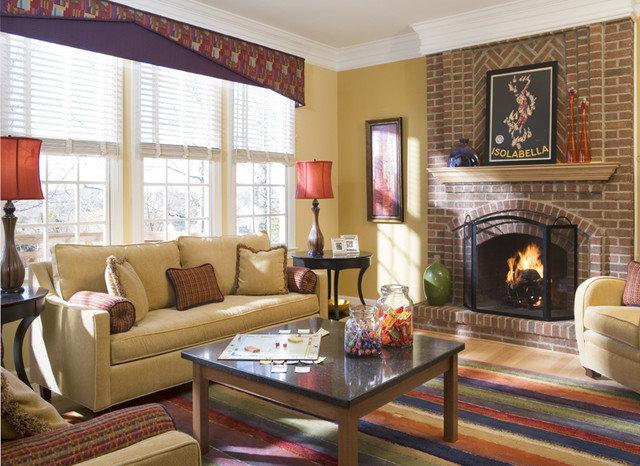 Contemporary Living Room by PT Designs Inc. Paula Tranfaglia - Decorating Den