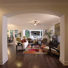 Contemporary Living Room by David Weekley Homes