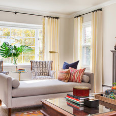Traditional Living Room by Meghan Shadrick Interiors