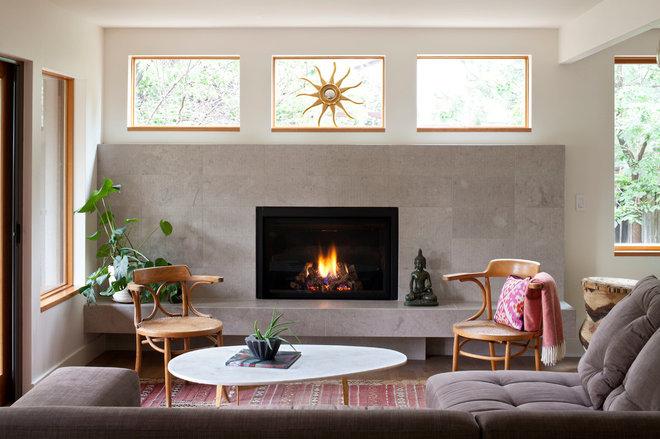 Contemporary Living Room by studiovert design