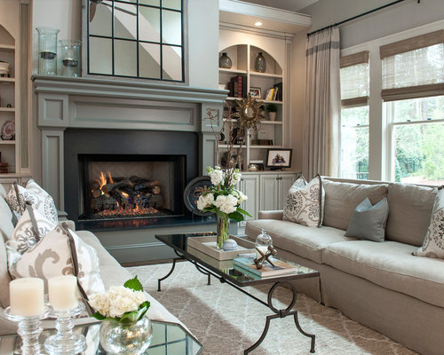 living room design ideas remodels photos with gray walls houzz