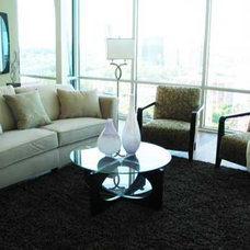 Contemporary Living Room by Pearle Staging and Design