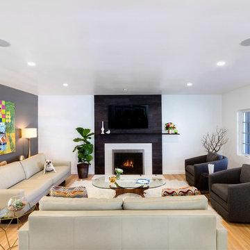 Pearson Residential Remodel: Living Room