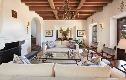 New This Week: 4 Living Rooms With Nice Architectural Features