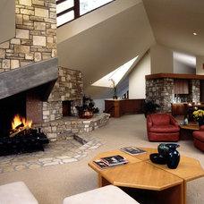 Contemporary Living Room by Daniel Ruark, Architect