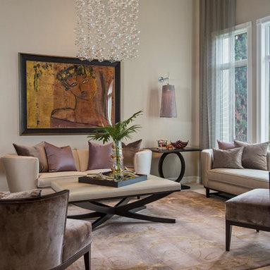 Mauve Living Room Design Ideas Pictures Remodel Decor