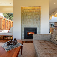 Contemporary Living Room by Malcolm Davis Architecture
