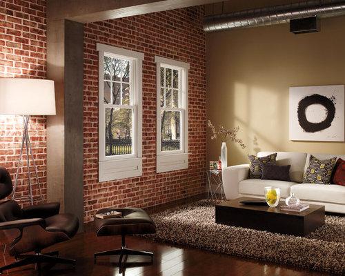 Eclectic Cedar Rapids Living Room Design Ideas Remodels