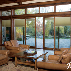 Contemporary Living Room by Pella Windows and Doors