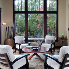 traditional living room by Visbeen Associates, Inc.