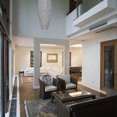 Contemporary Living Room by Maxim Lighting International