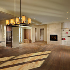 Contemporary Living Room by Bouwkamp Builders, Inc.