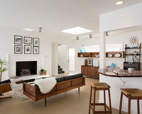 10k midcentury living room design ideas remodel pictures houzz