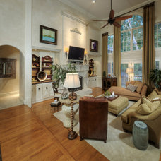 Mediterranean Living Room by PCL Interiors
