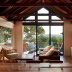 Hillside Sanctuary White Living Room By Kimball Starr