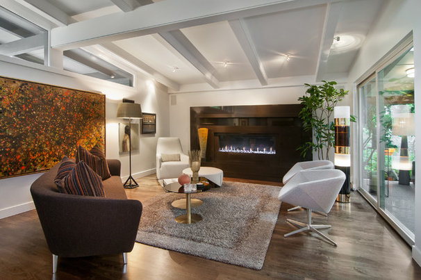 Contemporary Living Room by Marvin Jensen @ Windermere Real Estate