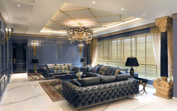 Contemporary Living Room by ACDS