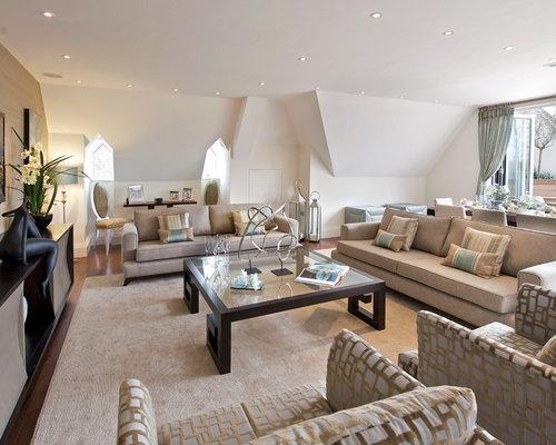 Aubergine and beige scheme design ideas remodel pictures for Aubergine living room ideas