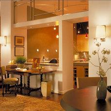 Contemporary Living Room by Patrick Sutton Associates