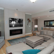 Beach Style Living Room by J. S. Perry & Co., Inc.