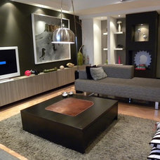 Contemporary Living Room by Ugljesa Kekovic