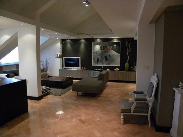 Contemporary Living Room by Ugljesa Kekovic